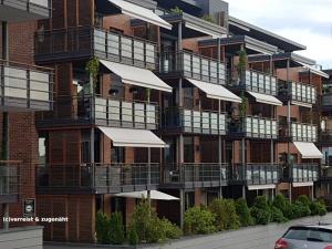 Wohnungsbau nordisch modern